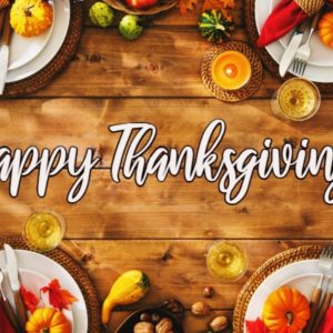 Restoring our Heart of Thanksgiving